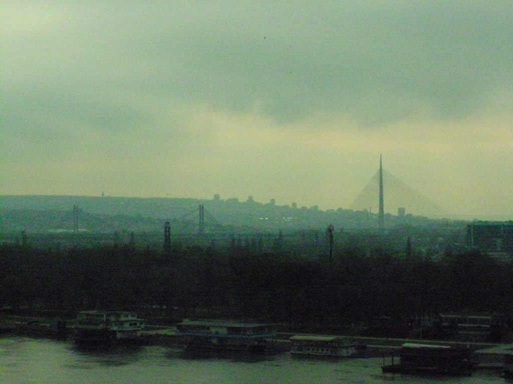 The Danube in Belgrade