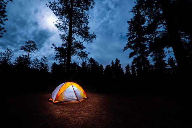 Camping near Bryce Canyon