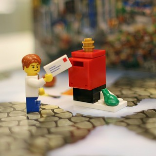 Lego advent day 2. Froggy mailbox. #lego | by bnilsen