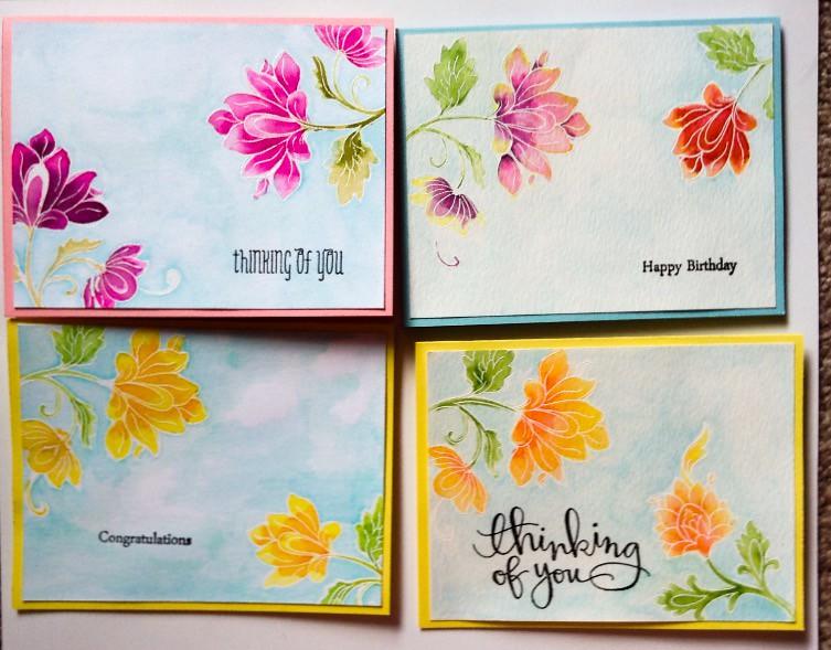 An Altenew Persian Motifs Set Of Cards 4 Of6 Scrapscrapthat Flickr