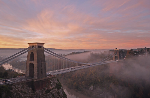 UK - Bristol - Clifton Suspension Bridge at sunrise | by Harshil.Shah