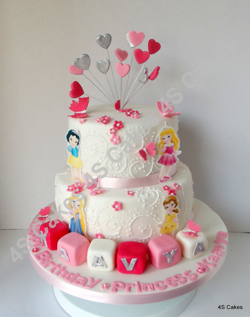 Disney toddler princess theme cake 4S Cakes Flickr