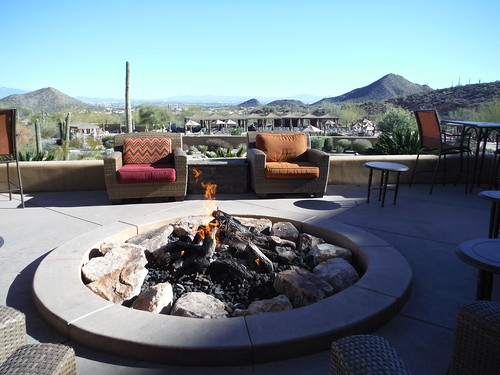 Marriott hotel firepit | by :: Wendy ::