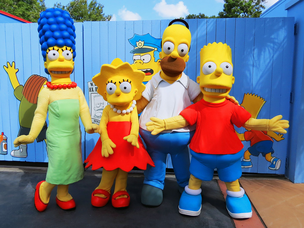 Pic bart simpson marge simpson the simpsons