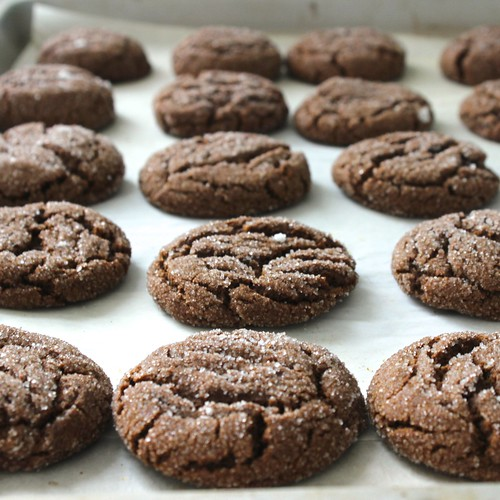 Molasses Spice Cookies | by chelseaemeliekelly