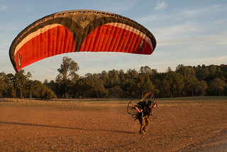 Tyler Forward Launching Powered Paraglider | by goingslowly
