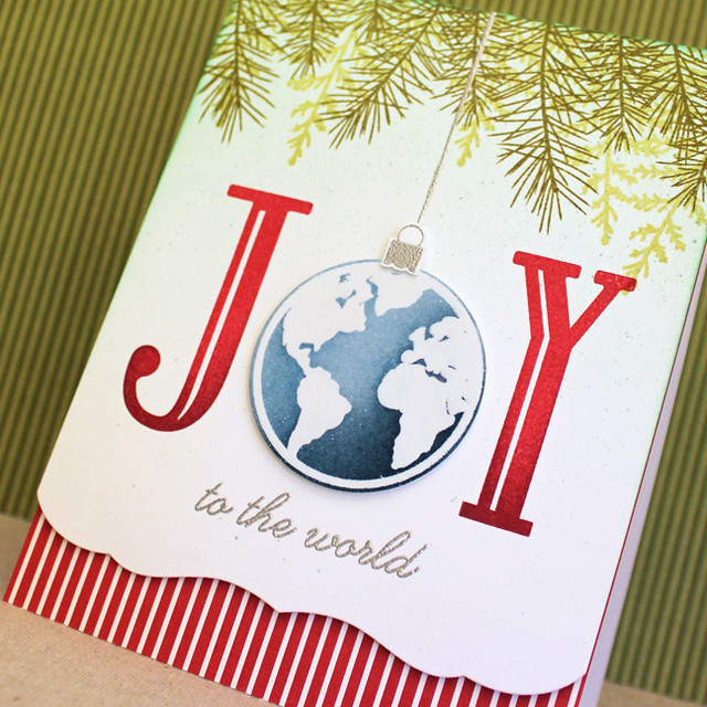 Joy To The World Ornament Close Up