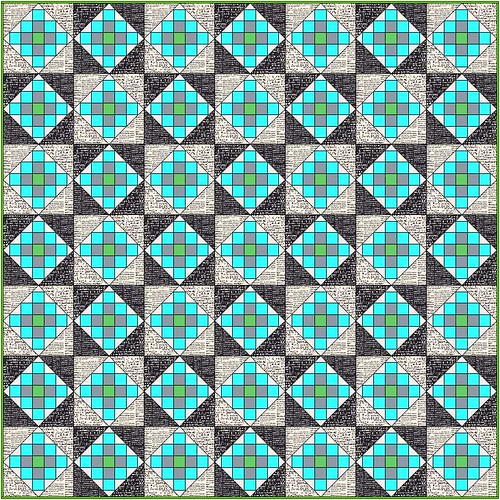 Granny Block Swap Top Plan | by Grey Cat Quilts