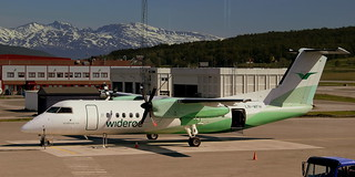 LN-WFH WIDEROE BOMBARDIER DASH8-300-WFH AT TROMSO AIRPORT NORWAY JUNE 2014 | by STEPHEN J MASON PHOTOGRAPHY