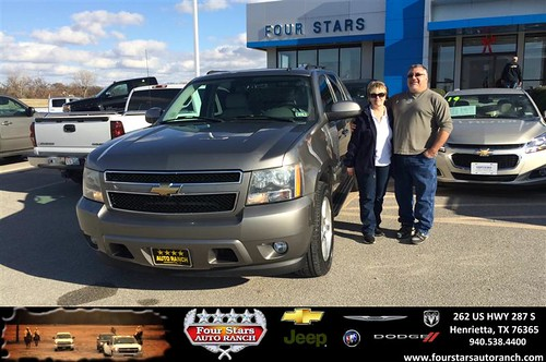 Four Stars Auto Ranch >> Congratulations to Billy and Debra Quintero on your #Chevr… | Flickr