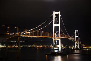 室蘭-白鳥大橋夜景02