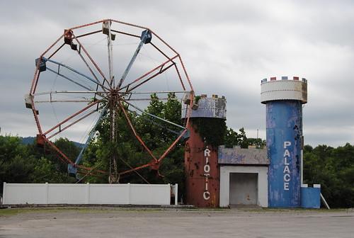 Ferris Wheel Fireworks, Pioneer, Tennessee