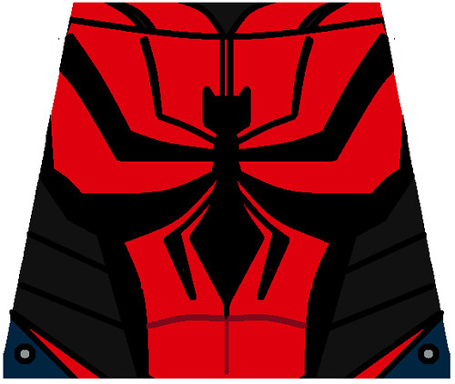 lego spiderman ends of the earth s torso decal | this ...