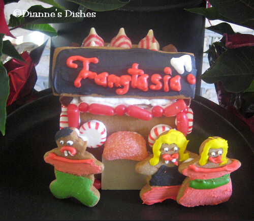 Fangtasia Gingerbread House | by Dianne's Dishes