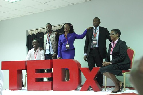 Speakers L-R: Alex, Yunus, Sabrina, Richard and Audrey | by tedxnakaseroED