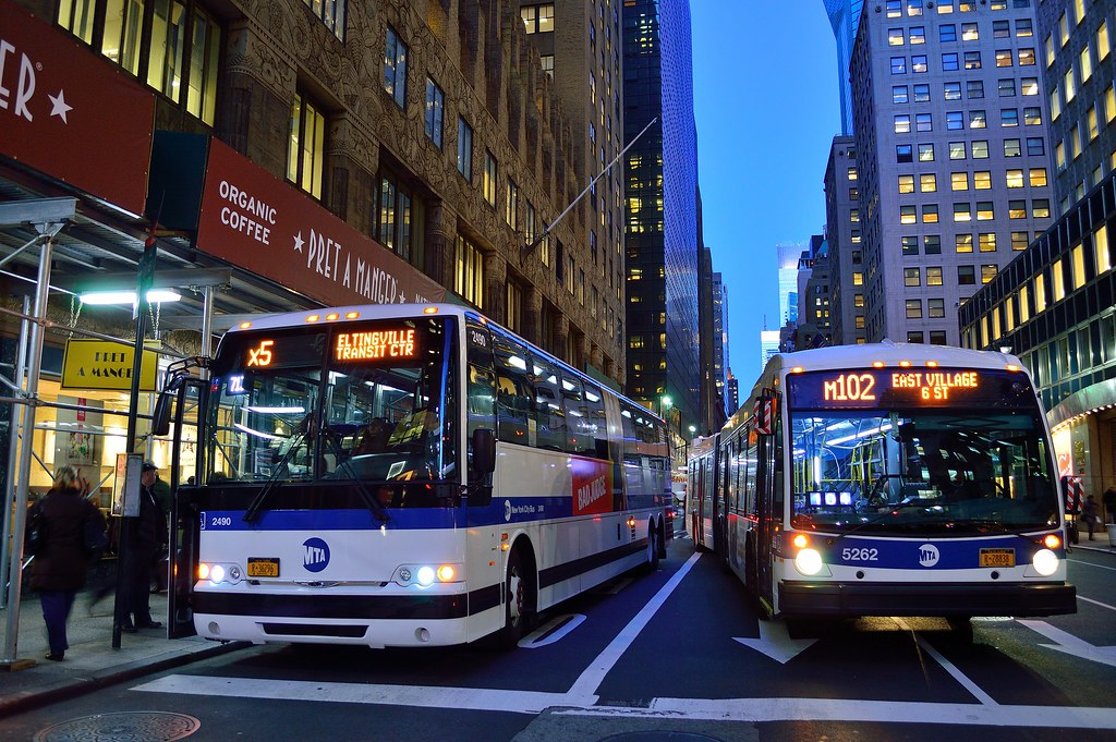 MTA New York City Bus 2014 Prevost x3-45 2490