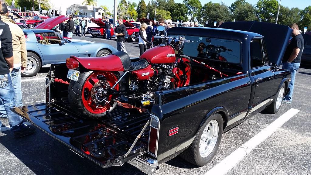 Chevrolet C Kawasaki Z Mason Dixon Christm Flickr - Classic car show clearwater fl