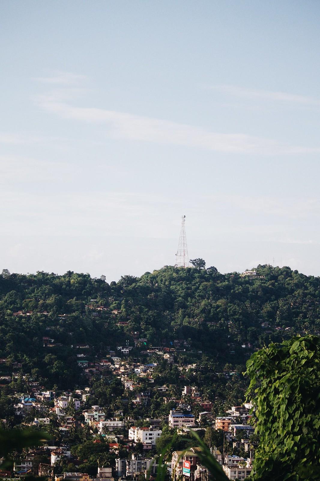 Guwahati City view Gandhi Mandap, Guwahati, Assam, Northeast India