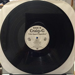 CRAIG G:LET'S GET UP(RECORD SIDE-B)
