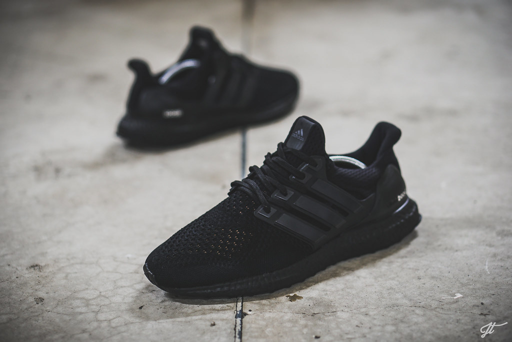 12c19ce52 ... promo code for adidas ultra boost triple black custom by jht3 a12f7  4718b