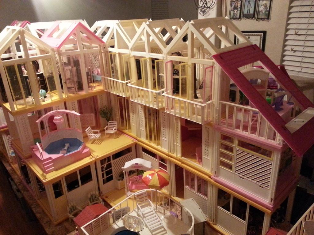 Vintage Barbie Dream House Moonpiedumplin Flickr