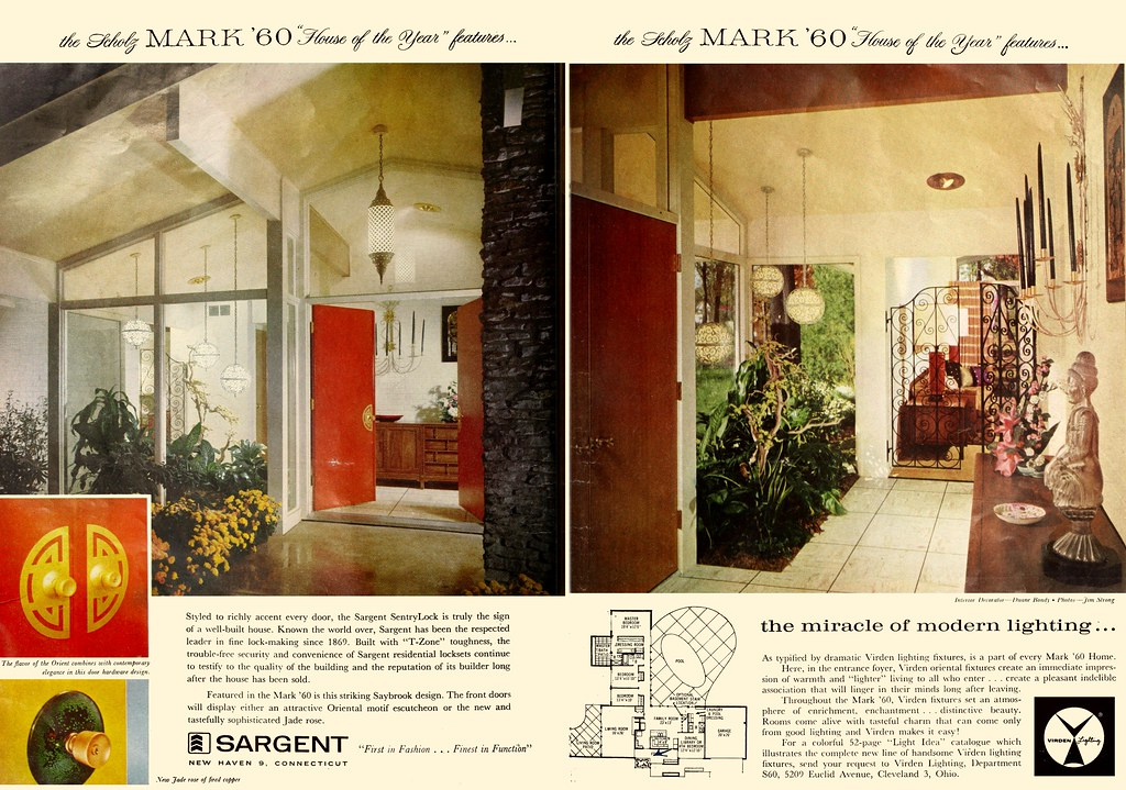... Scholz Mark U002760 House Of The Year   House U0026 Garden 1960 (2 Of