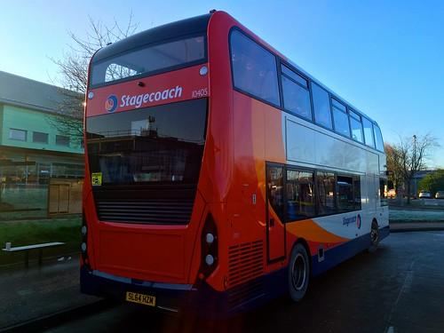 Stagecoach Manchester Alexander Dennis Enviro 400 Mmc Sl64