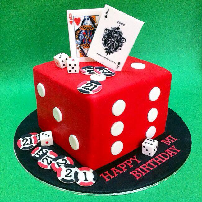 Dice 21st Birthday Cake Cakeshop Cakehouse Selangor Kualalumpur Johorbahru