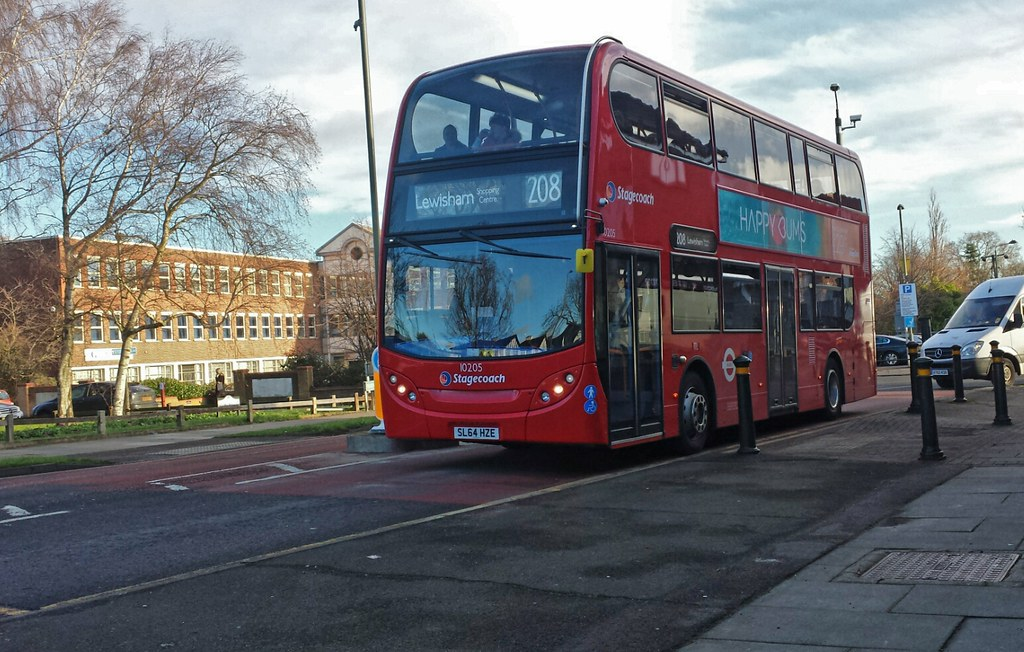 by Tom 10205 SL64 HZE as TL44 on route 208, 14th January 2015.   by Tom