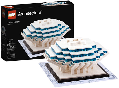 LEGO Architecture Geisel Library | by Tom Alphin