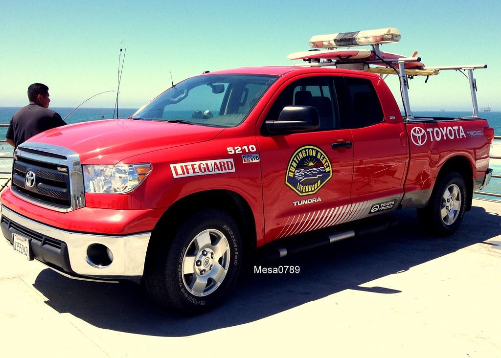 ... Huntington Beach CA Lifeguard, Toyota Tundra | By Mesa0789