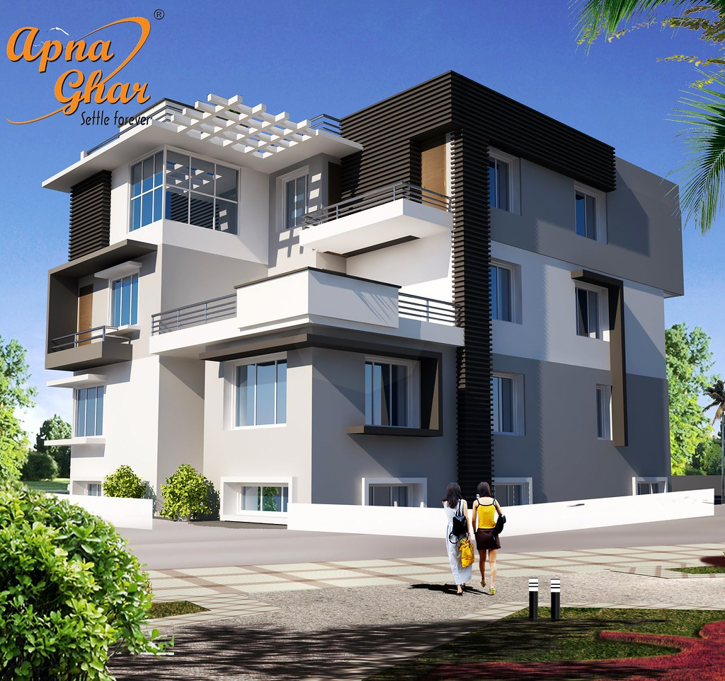 triplex house designs