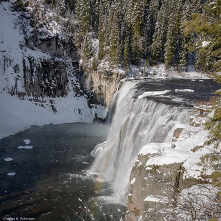 Upper Mesa Falls in Winter #1 - Idaho | by petechar