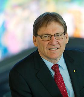 QUT Vice-Chancellor Professor Peter Coaldrake