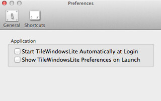 TileWindows Lite Preferences Window | by amayem