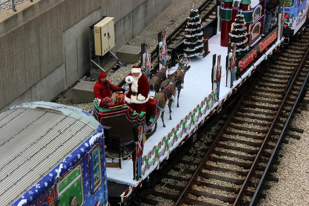 2014 cta holiday train by cta web - Cta Christmas Train 2014