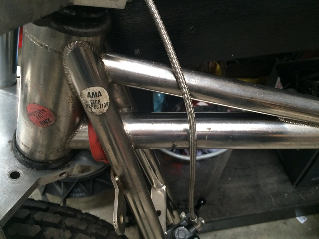 XR750 ROLLING FRAME | NEW NICKLE COATED XR750 FRAME AND WHEE ...