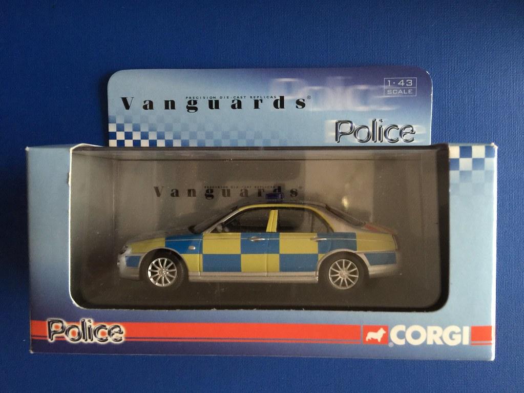 Corgi Vanguards Police Collection - VA09304 - Rover MG ZT … | Flickr