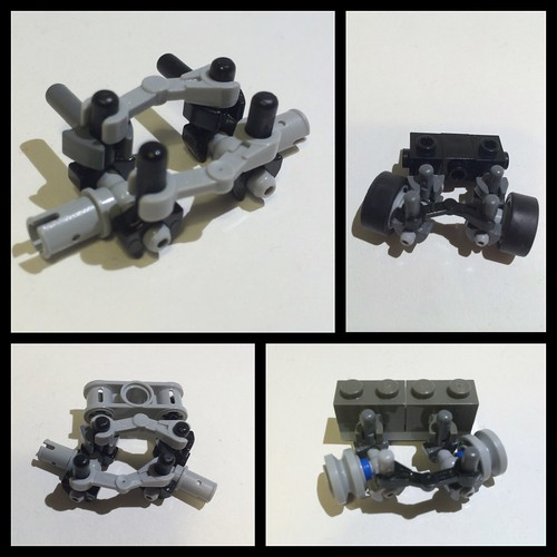 Steering Solution For Small Scale Lego Vehicles
