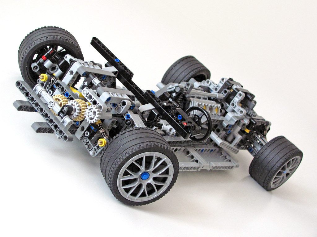 Supercar Chassis Wip Includes 6 Speed Gearbox With Linkag Flickr