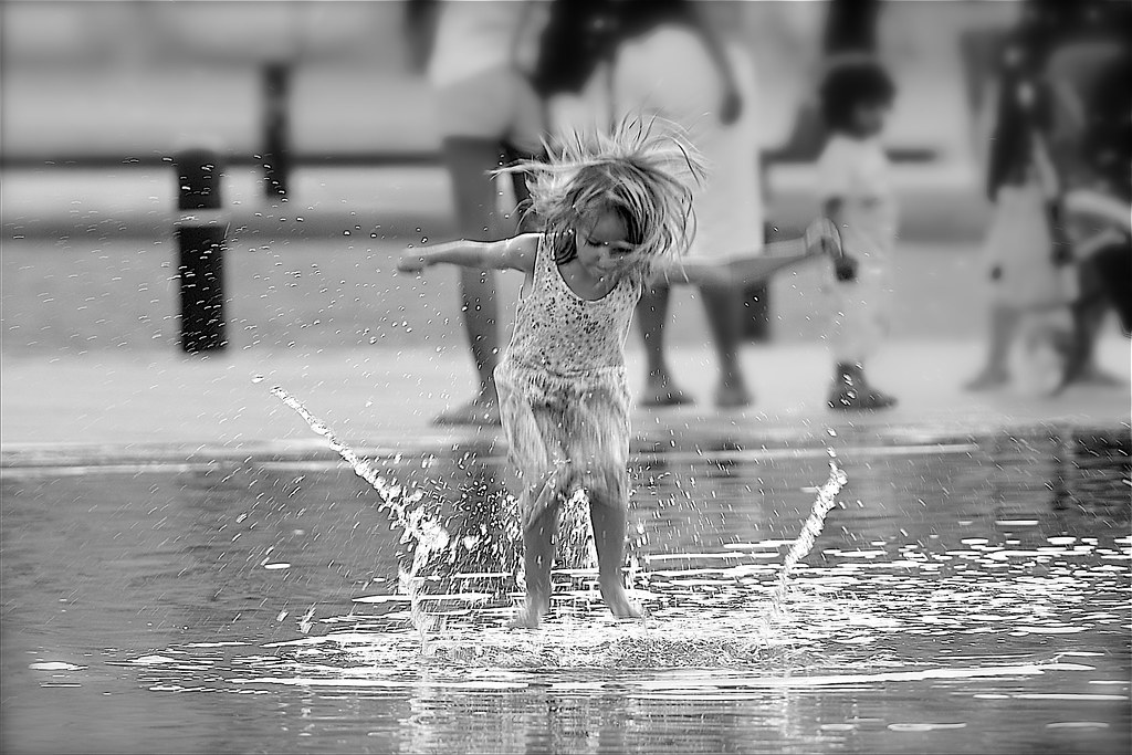 L Manzor Dancing In The Rain By Marie L Manzor