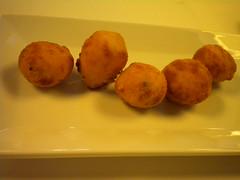 bolitas fritas de Roqueford