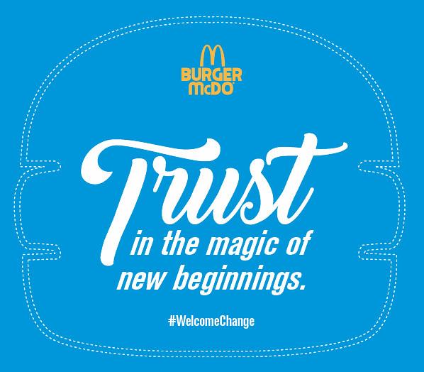 #WelcomeChange McDonalds Blog Blogger Promo Duane Bacon Trust