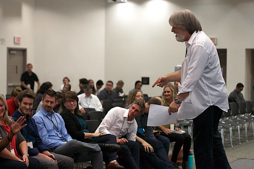 Gardner Campbell Readies the Ignite Speakers | by cogdogblog