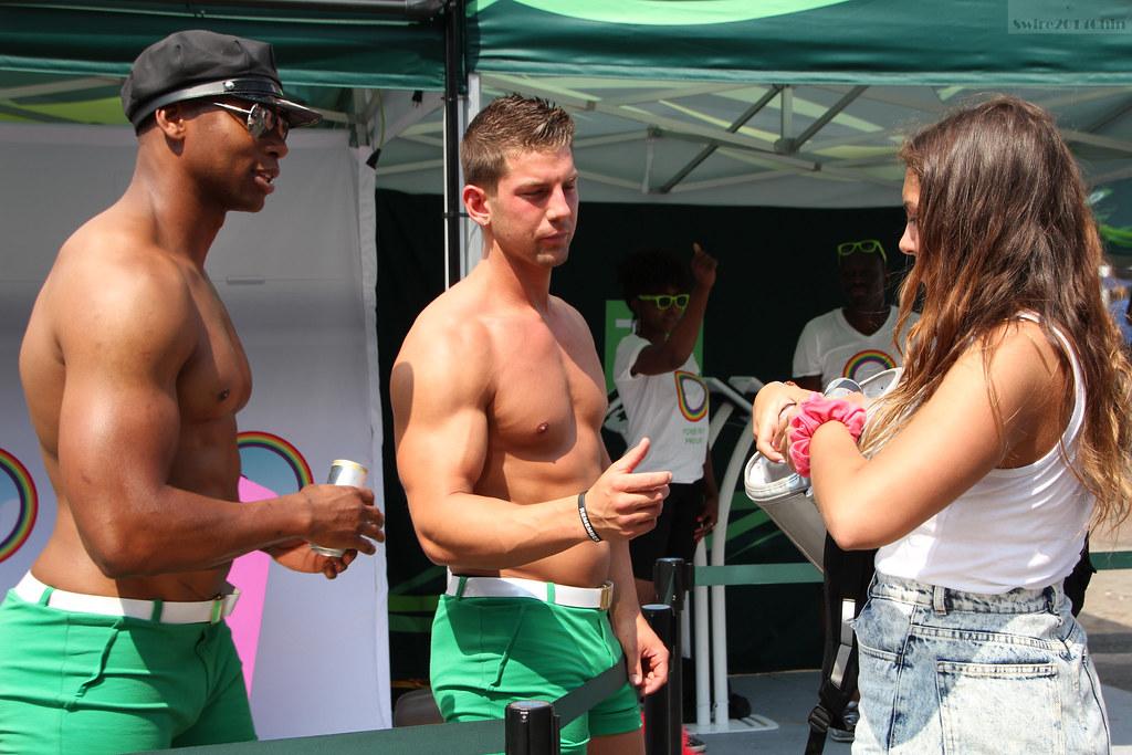Gay male muscle men