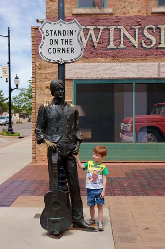 Standing on the Corner Park - Route 66, Winslow, Arizona | by RoadTripMemories