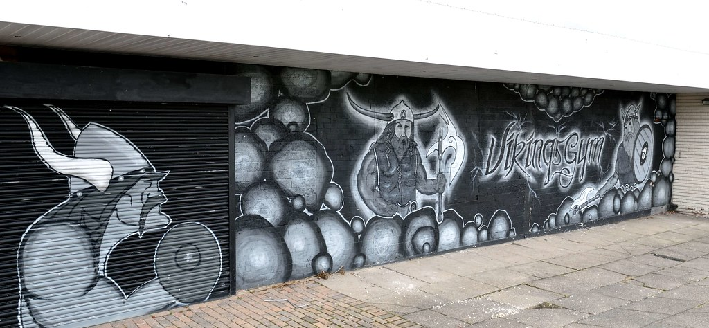 Wall Mural Vikings Gym Hackenthorpe S Yorkshiredsc057 Flickr