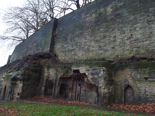 Nottingham Castle - Outer Bailey Wall and Towers | The ...