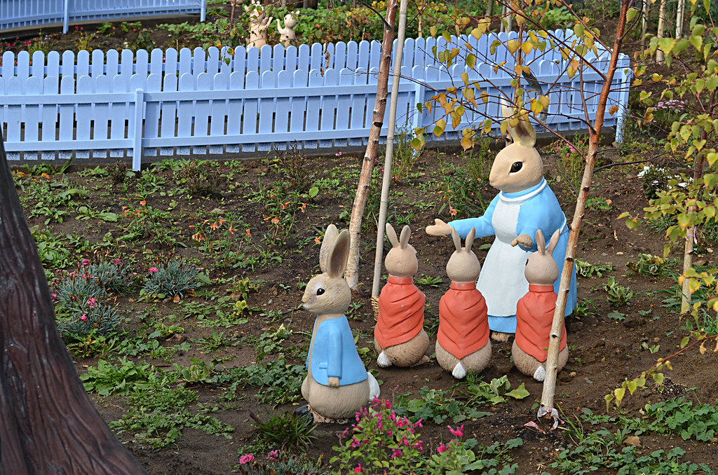 ... Tasmania Peter Rabbit Garden Figurines | By RiversdaleEstateMedia,  Tasmania