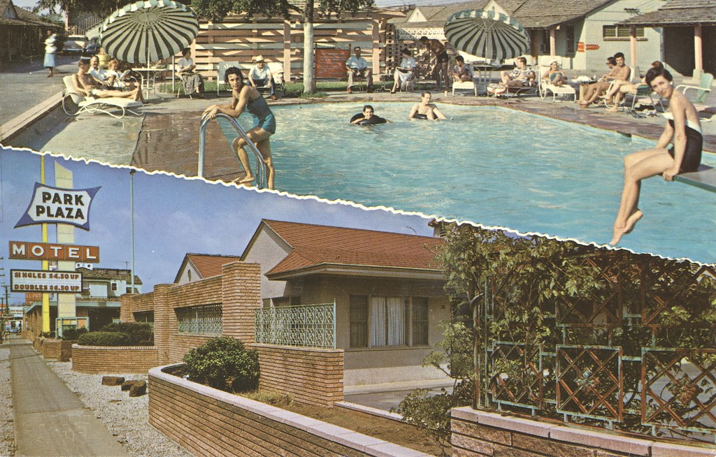 Park Plaza Motel - Fort Worth, Texas